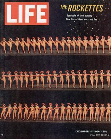 LIFE Dancing Rockettes
