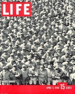 LIFE Dodgertown Rookies 1948
