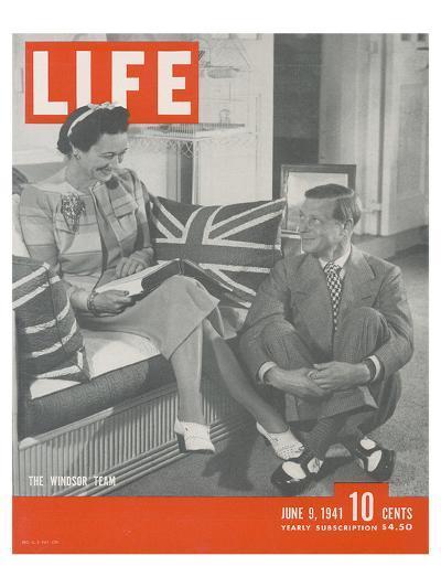 LIFE Duke & Duchess of Windsor--Art Print