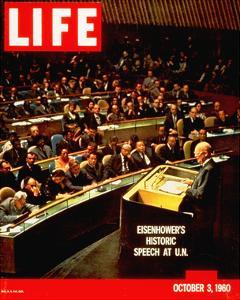 LIFE Eisenhower at U.N. 1960
