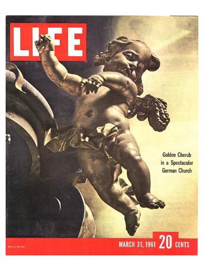 LIFE German Rococo Putto 1961--Art Print