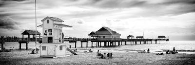Life Guard Station - Florida Beach-Philippe Hugonnard-Photographic Print