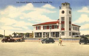Life Guard Station, Jacksonville, Florida