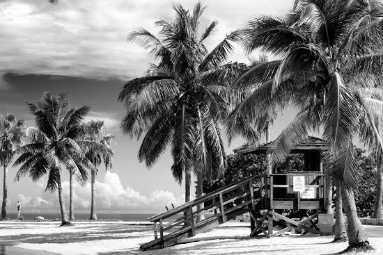Life Guard Station - Miami Beach - Florida-Philippe Hugonnard-Photographic Print