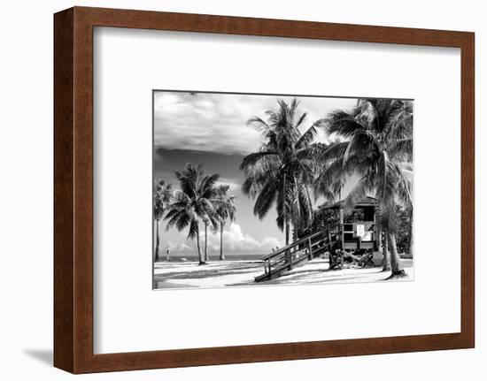 Life Guard Station - Miami Beach - Florida-Philippe Hugonnard-Framed Photographic Print