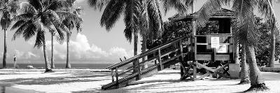 Life Guard Station - Miami Beach - Florida-Philippe Hugonnard-Photographic Print