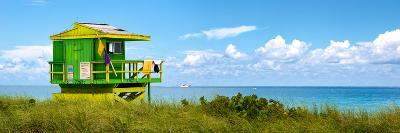 Life Guard Station - South Beach - Miami - Florida - United States-Philippe Hugonnard-Photographic Print