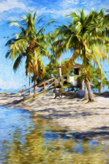 Life Guard Station V - In the Style of Oil Painting-Philippe Hugonnard-Giclee Print