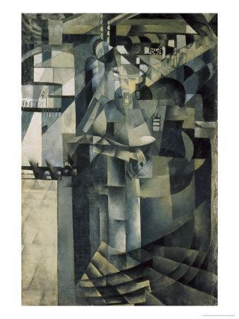 Life in a Big Hotel-Kasimir Malevich-Giclee Print