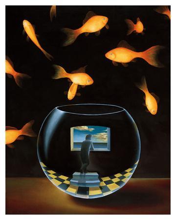 Life in a Wish Bowl-Samy Charnine-Art Print