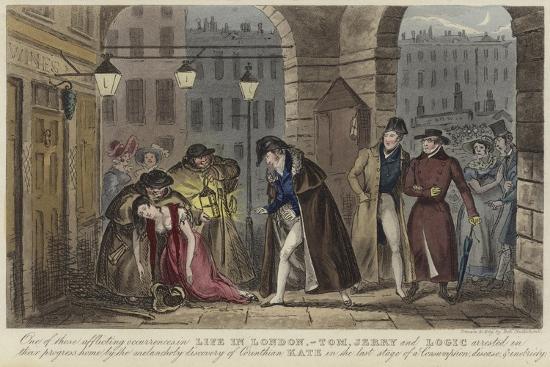 Life in London-Isaac Robert Cruikshank-Giclee Print