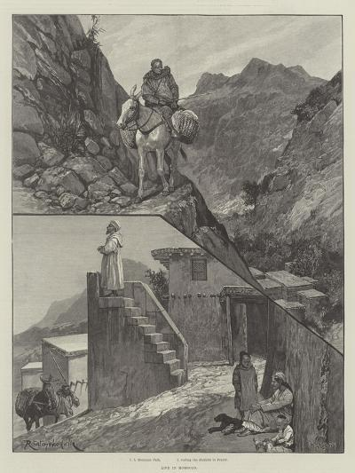 Life in Morocco-Richard Caton Woodville II-Giclee Print
