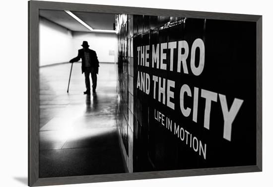 Life in Motion--Framed Art Print