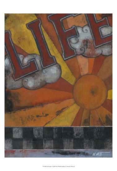 Life Inspires-Norman Wyatt Jr^-Art Print
