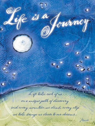Life is a Journey-Flavia Weedn-Giclee Print