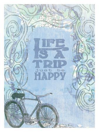 Life Is A Trip-Lisa Weedn-Giclee Print