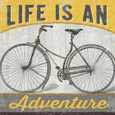 Life is an Adventure--Art Print