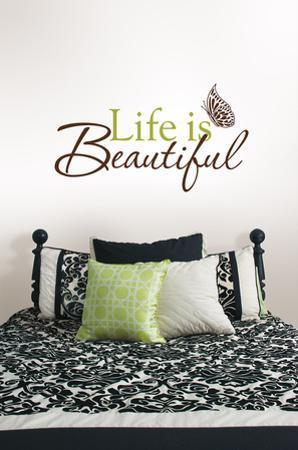 Life is Beautiful Wall Art Kit