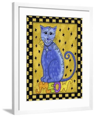 Life Is Better with a Cat-Tina Nichols-Framed Giclee Print
