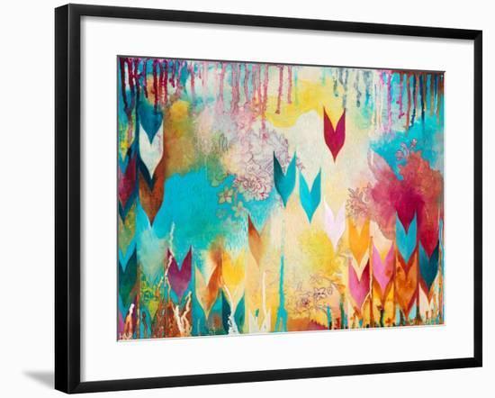 Life is Good-Heather Noel Robinson-Framed Art Print