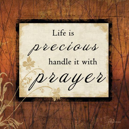Life Is Precious-Jennifer Pugh-Art Print