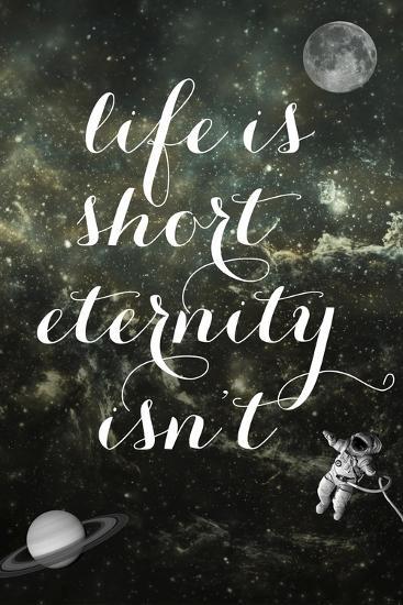 Life is Short-Elo Marc-Giclee Print