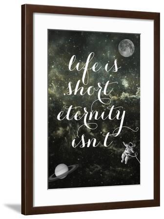 Life is Short-Elo Marc-Framed Giclee Print