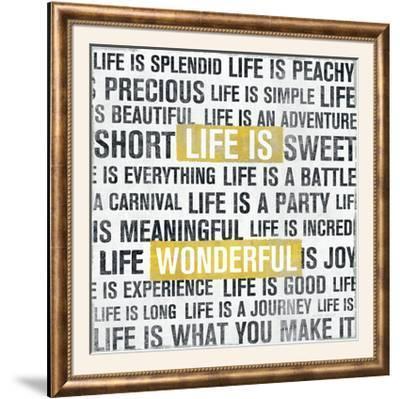 Life Is Yellow-Michael Mullan-Framed Photographic Print