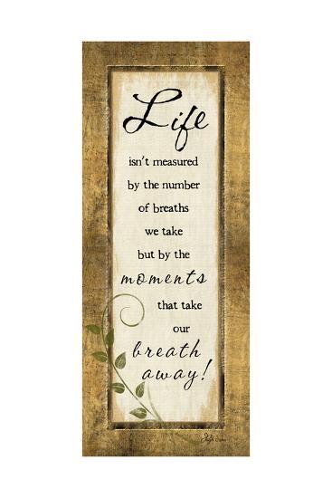 Life Isn't Measured-Jennifer Pugh-Art Print