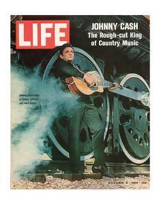 LIFE Johnny Cash Rough-cut King