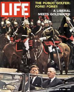 LIFE Kennedy in Paris 1961