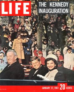 LIFE Kennedy Inauguration 1961