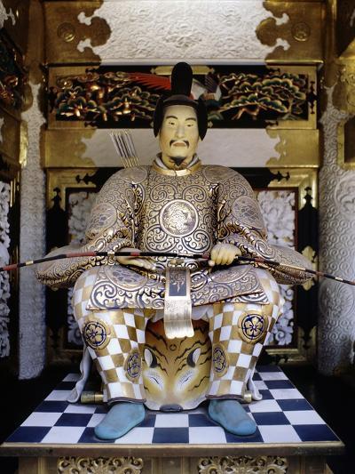 Life-Like Image of Tokugawa Ieyasu at Toshogu Shrine in Nikko, Japan--Photographic Print