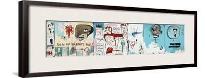 Life like Son of Barney Hill-Jean-Michel Basquiat-Framed Giclee Print