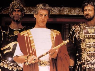 Life of Brian, John Cleese, Michael Palin, Graham Chapman (Monty Python), 1979--Photo
