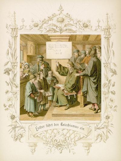 Life of Martin Luther-Gustav Ferdinand Leopold Konig-Giclee Print