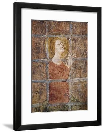 Life of Saint Margaret of Antioch--Framed Giclee Print