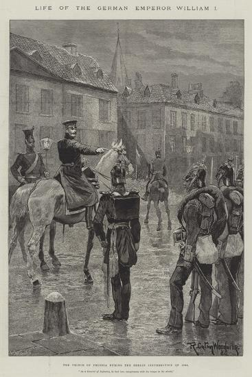 Life of the German Emperor William I-Richard Caton Woodville II-Giclee Print