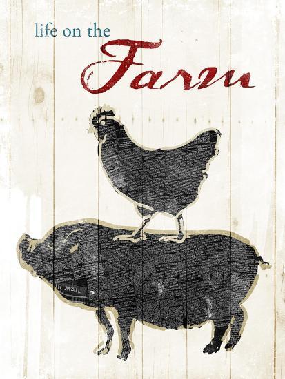 Life On The Farm-OnRei-Art Print