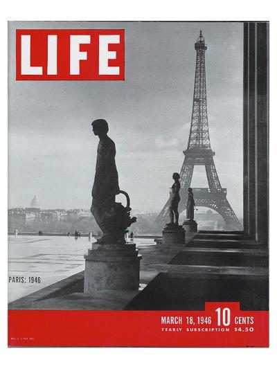 LIFE Paris Eiffel Tower 1946--Art Print