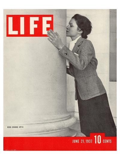 LIFE Reno Divorce Myth 1937--Art Print