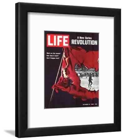LIFE Revolution Causes… 1969--Framed Art Print