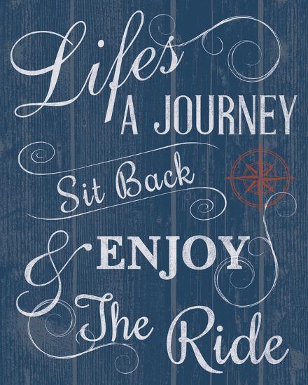 Life's a Journey-Tom Frazier-Giclee Print