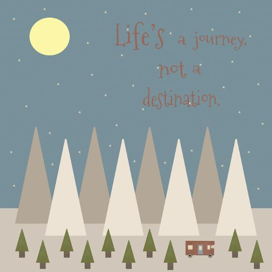 Life's a Journey-Tammy Kushnir-Giclee Print