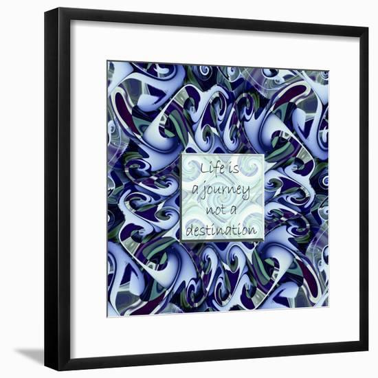 Life's A Journey-Fractalicious-Framed Premium Giclee Print