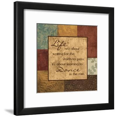 Life's About-Sophie Devereux-Framed Art Print