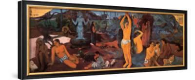 Life's Questions-Paul Gauguin-Framed Art Print