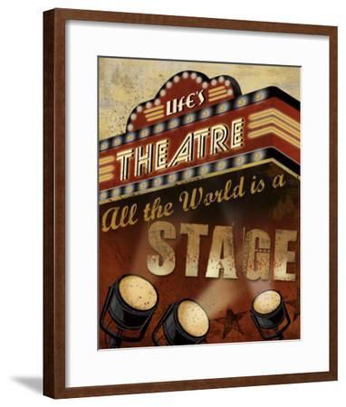 Life's Theatre-Conrad Knutsen-Framed Art Print