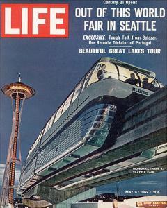 LIFE Seattle World Fair Monorail