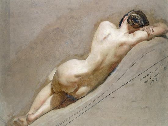 Life Study of the Female Figure-William Edward Frost-Giclee Print